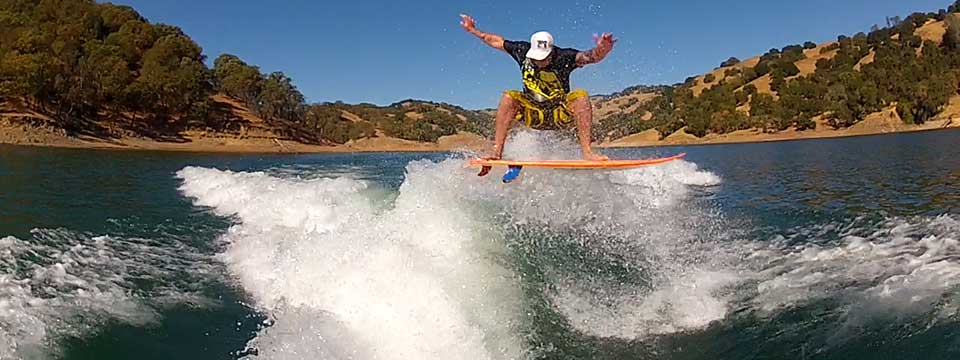 GoPro Array Test Wakesurfing